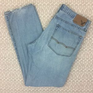 American Eagle Relaxed Straight Jeans SZ 34X34 F57